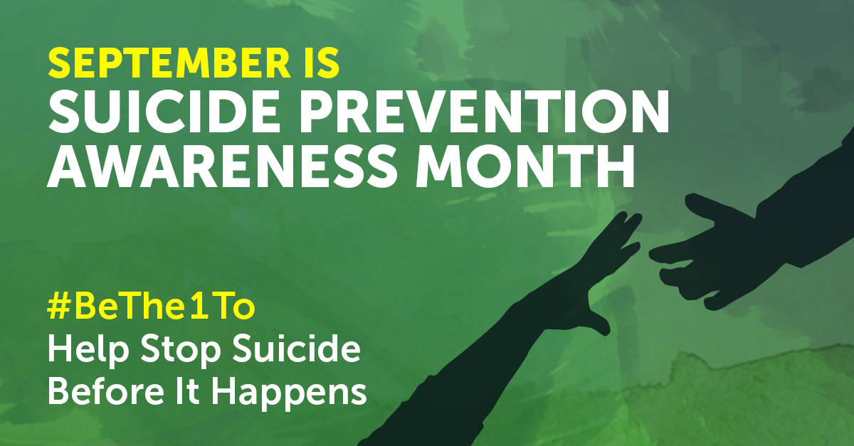 Image result for september is suicide prevention month 2018